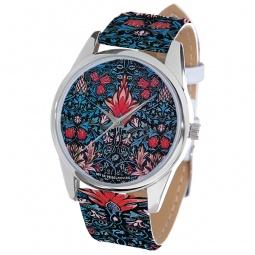 фото Часы наручные Mitya Veselkov «Тюльпановый принт» ART