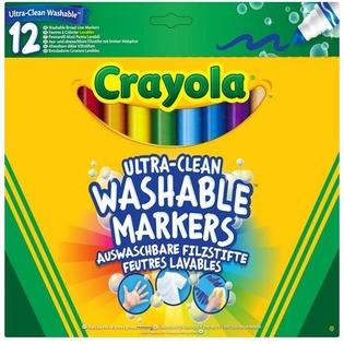 Купить Набор фломастеров смываемых Crayola 58-8329 «Супер чисто»