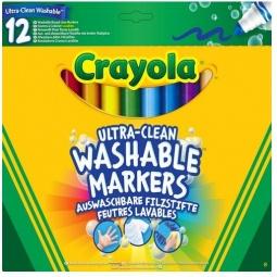 фото Набор фломастеров смываемых Crayola 58-8329 «Супер чисто»