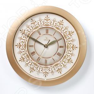 Часы настенные Вега П 1-8/7-230 «Снежинка»Часы настенные<br>Часы настенные Вега П 1-8 7-230 Снежинка - красивые и элегантные настенные часы, которые послужат отличным дополнением вашего домашнего интерьера. Простой, но, в тоже время, стильный дизайн часов позволит им вписаться даже в самый изысканный антураж. Круглый циферблат с крупными цифрами позволит вам без труда разглядеть время, даже если вы находитесь на другом конце комнаты. Корпус выполнен из высококачественного полимерного пластика, который гарантирует долговечность и надежность изделия.<br>