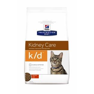 Купить Корм сухой диетический для кошек Hill's K/D Prescription Diet Feline Kidney Care