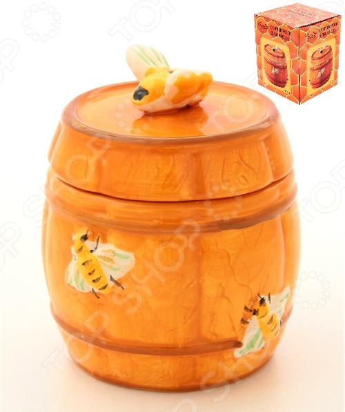 фото Горшочек для меда Elan Gallery «Бочонок», Банки для мёда. Розетки