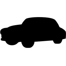 фото Набор: доска для заметок меловая и маркер Securit «Машина»