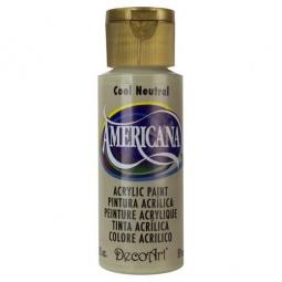 фото Краска акриловая DecoArt Премиум Americana. Цвет: холодный нейтральный