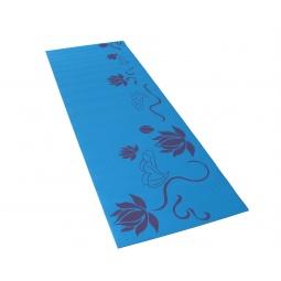 фото Коврик для фитнеса и йоги Alonsa с принтом. Цвет: голубой