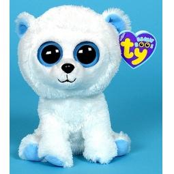 фото Мягкая игрушка TY Медведь TUNDRA. Высота: 16 см