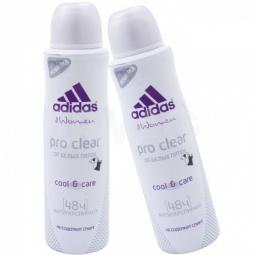 Купить Дезодорант-спрей женский Adidas Cool&Care Pro clear