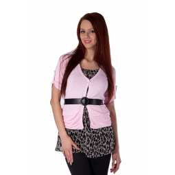 фото Туника Mondigo 9461. Цвет: бледно-розовый. Размер одежды: 44