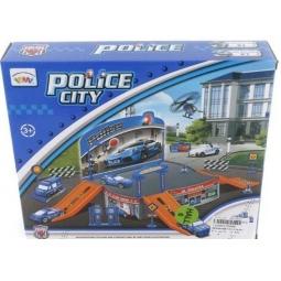 фото Набор игровой для мальчика Shantou Gepai «Паркинг. Полицейская станция» P2088
