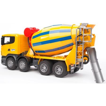 Купить Бетономешалка игрушечная Bruder Scania