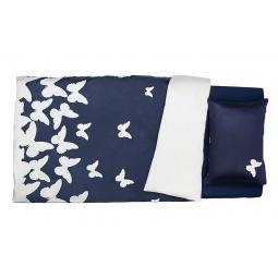 Купить Комплект постельного белья Dormeo PRIMAVERA. 2-спальный. Цвет: синий. Уцененный товар