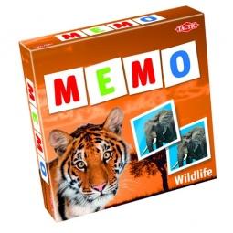 фото Игра развивающая Tactic 41441 «Мемо. Дикие животные 2»