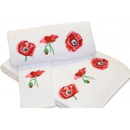 фото Комплект полотенец подарочный TAC Maki. Цвет: белый