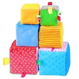 Купить Кубики обучающие мягкие Мякиши «Умные кубики»