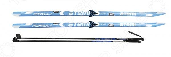 Комплект лыжный Atemi Formula 2014 STEP 75 мм лыжи беговые atemi formula step