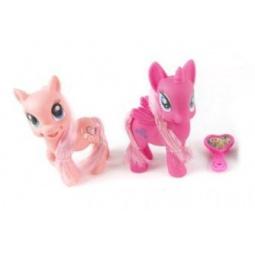 фото Набор фигурок-игрушек Shantou Gepai «Пони с аксессуарами»