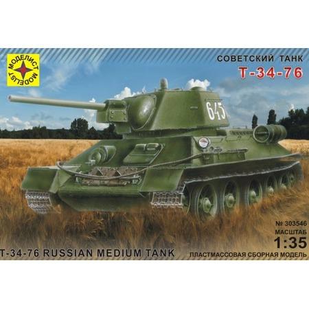 Купить Сборная модель танка Моделист «Т-34-76»