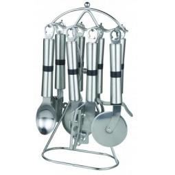 фото Набор кухонных принадлежностей Irit IRH-614 на подставке