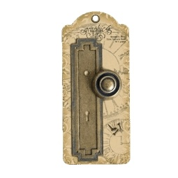 Купить Декоративные дверные ручки-брадс Graphic 45 G45-4500298
