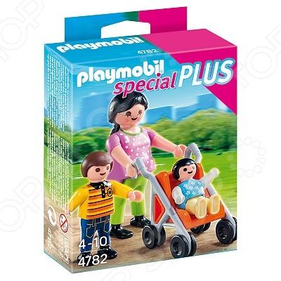 Набор фигурок к игровому конструктору Playmobil 4782 «Дополнение: Мама с детьми» конструкторы playmobil дополнение знаменитость с наградой
