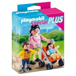 Купить Набор фигурок к игровому конструктору Playmobil «Дополнение: Мама с детьми»