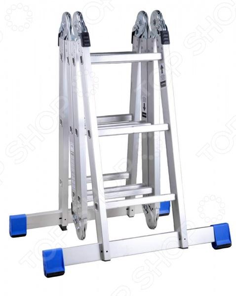 Лестница-трансформер с платформой Зубр «Эксперт» 38861