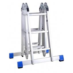 Купить Лестница-трансформер с платформой Зубр «Эксперт» 38861