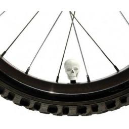Купить Набор колпачков для велосипеда Luckies Skull Caps