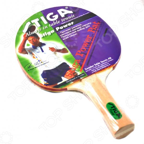 Ракетка для настольного тенниса Stiga Power ракетка для настольного тенниса stiga trophy oversize