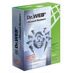 Купить Антивирусное программное обеспечение Dr.Web «Малый бизнес». 5 ПК, 1 сервер, 5 пользователей почты на 1 год