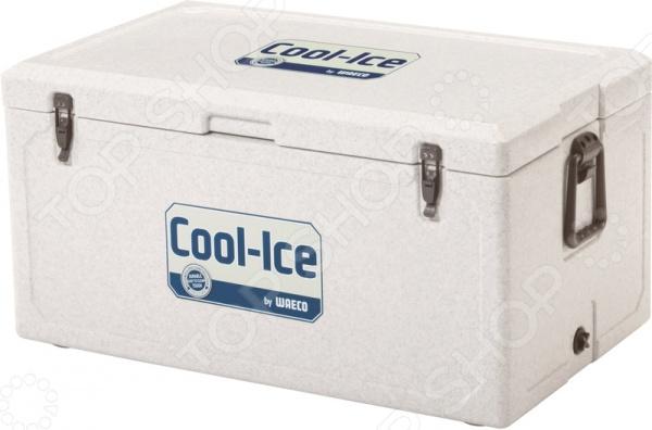 Контейнер изотермический WAECO WCI предназначен для хранения замороженных или теплых продуктов. Благодаря своим толстым стенкам теромконтейнер может сохранять до 10 дней стабильную температуру, при которой даже лед не размораживается. Безопасные материалы отделки позволяют хранить в таком контейнере совершенно разные продукты, начиная от рыбы, заканчивая мясом. Бесшовная конструкция контейнера выполнена из ударопрочного пластика, который также отличается своей устойчивостью к воздействию УФ-лучей. Петли и ударопрочные ручки выполнены из нержавеющей стаи. Контейнер очень легко моется, а специальные отверстия для слива конденсата не позволяют собираться лишней влаги. Контейнер станет незаменимым для тех, кто занимается рыбалкой, охотой или просто любит долгие походы.