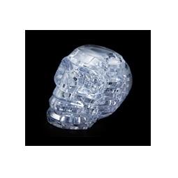 фото Пазл-конструктор 3D Crystal Puzzle «Череп». Цвет: белый