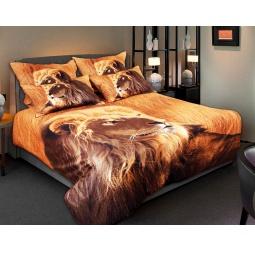 фото Комплект постельного белья Buenas Noches Shkura. Satin Fotoprint. 2-спальный
