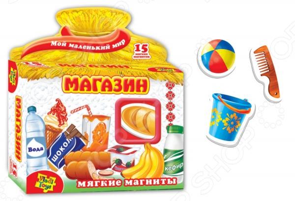 Игра развивающая на магнитах Vladi Toys «Магазин»