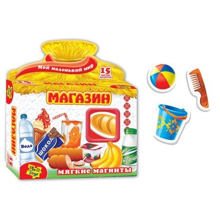 Купить Игра развивающая на магнитах Vladi Toys «Магазин»