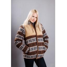 фото Куртка WoolHouse. Цвет: коричневый. Размер одежды: 46-48