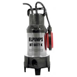 Купить Насос погружной измельчающий дренажный для сточных и фекальных вод Elpumps BT6877K