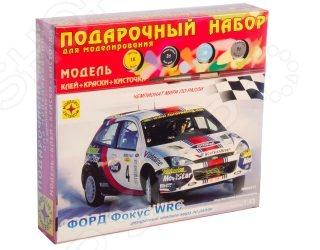 Подарочный набор борной модели автомобиля Моделит 20878 «Форд » WRC