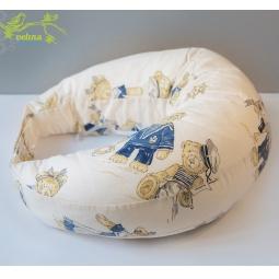 фото Подушка для беременных и кормления Velina на липучке. Рисунок: мишки