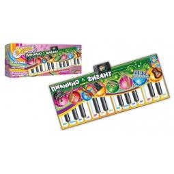 Купить Коврик интерактивный музыкальный 1 TOY Т51677 Пианино-Гигант