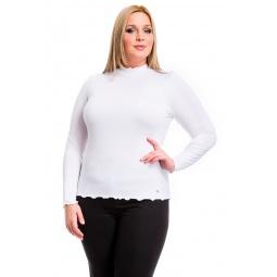фото Водолазка Mondigo XL 1473. Цвет: белый. Размер одежды: 48