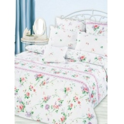 фото Комплект постельного белья Романтика «Нежность прованса» КБРп-11. 1,5 спальный