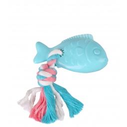 фото Игрушка для собак DEZZIE «Рыба с веревкой»
