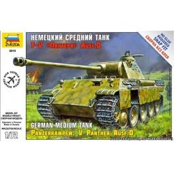 фото Сборная модель Звезда немецкий танк Т-V «Пантера»