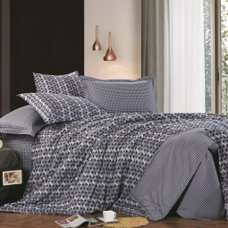 фото Комплект постельного белья Amore Mio Jacquard. Provence. 2-спальный