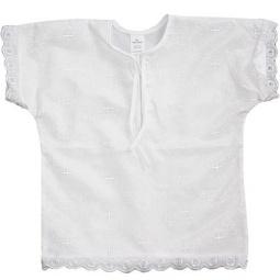 Купить Рубашка для крещения МАРГАРИТА с крестиком