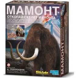 Купить Набор юного археолога 4M «Скелет Мамонта»