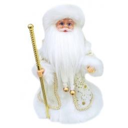 фото Игрушка под елку музыкальная Новогодняя сказка «Дед Мороз в золотом» 972123