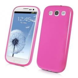 фото Чехол Muvit iGum для Samsung S3 i9300 Soft Touch. Цвет: розовый