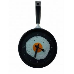 Купить Часы настенные «Яичница на сковороде»